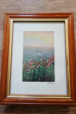 beautiful batik  /embroidered picture gilda baron