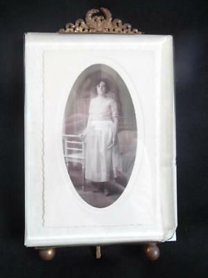 DIVINE ANTIQUE FRENCH PHOTO FRAME with Bevelled Glass