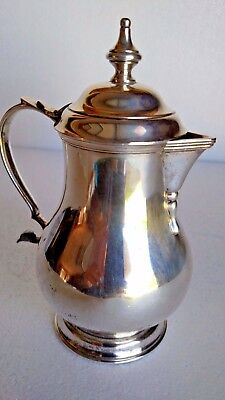 Beautiful Vintage Sterling Silver Stieff Creamer