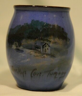 Lemon & Crute Blue round pot, Ansteys Cove, Torquay in Great condition