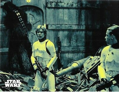 Star Wars 40th Anniversary Green Base Card #24 The Trash Compactor