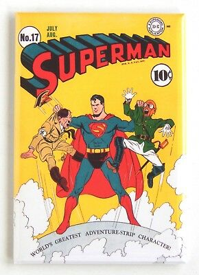Superman #17 FRIDGE MAGNET (2 x 3 inches) comic book