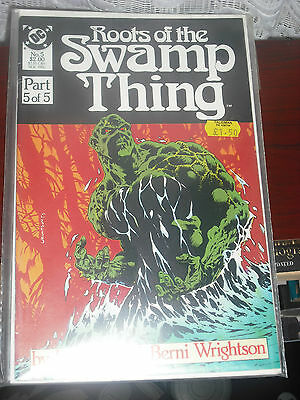 Roots of the Swamp Thing 5 November 1986 DC Comics