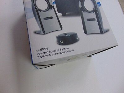 Cyber Acoustics Curve Blast 2.1 Channel Speaker System (CA-SP24)