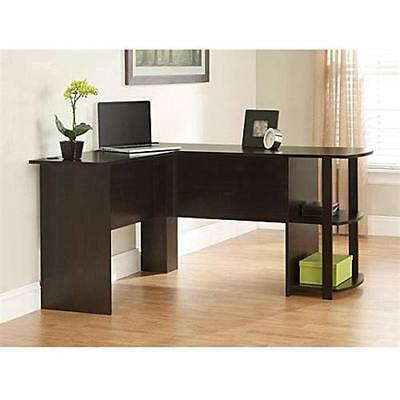 3 Of 6 L Shaped Corner Desk Workstation Computer Home Office Executive  Gaming Table