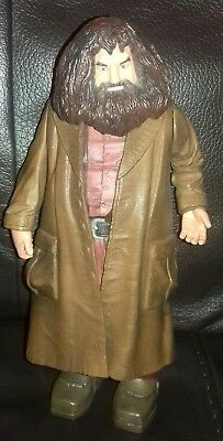 "HARRY POTTER 9"" Hagrid Action Figure Philosopher's Stone Mattel 2001 VGC/P&Pinc"