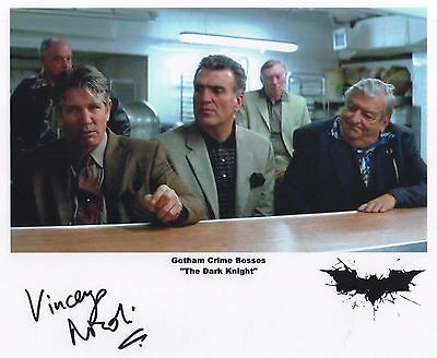 "BATMAN The Dark Knight Auto Photo Print Vincenzo Nicoli ""Gotham Crime Boss"""
