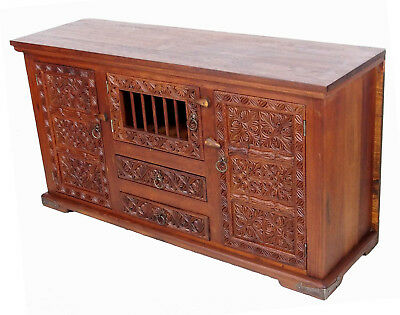 orient Afghan Massivholz Schrank Kommode Buffet cabinet Sideboard console Nr:17