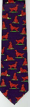 Irish Setter Tie New In Package