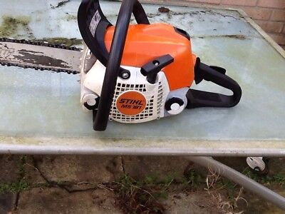"Stihl Chainsaw Ms181 With 14"" Bar And Chain Full Working Order 2012"