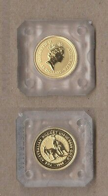 1998 Australian Nugget $15 Gold Coin - 1/10 Oz .9999