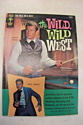 2 comics-WILD WILD WEST #1 (1966) #5 (1969) Picture covers VG+/better see Pixs