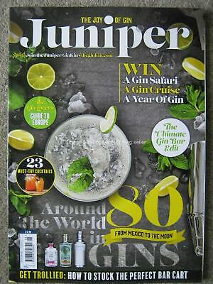 Juniper magazine September 2017 The Joy of Gin Cocktails Europe