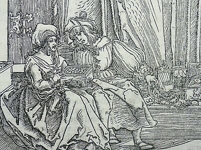 1532 Master of Petrarch - Hans Weiditz 1495-1537 - A FINE DOWRY OVERCOMES BEAUTY