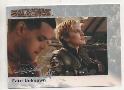 "Battlestar Galactica Card No.39 Auto by Aaron Douglas ""Chief Galen Tyrol"""