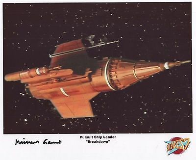 "Blake's 7 Auto Photo Print Michael Gaunt ""Pursuit Ship Leader"""