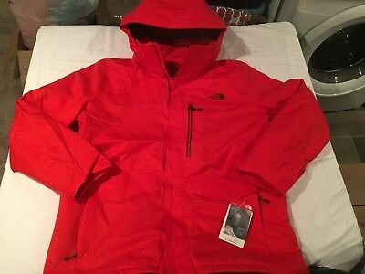 NWT $299.00 The North Face Mens Gatekeeper Jacket Fiery Red Size XXL