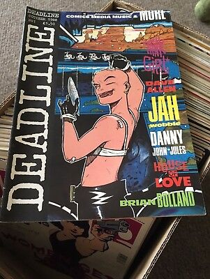 Deadline #1,2,3,4,5,6,8,9,11-71 1st Tank Girl VFN/NM