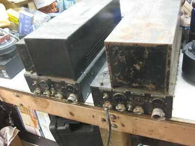 2 IPC western electric theatre 2A3PP  tube amplifier from 1935