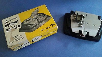 Vintage Hollywood Automat 8mm&16mm Stainless Steel Film Splicer in Box