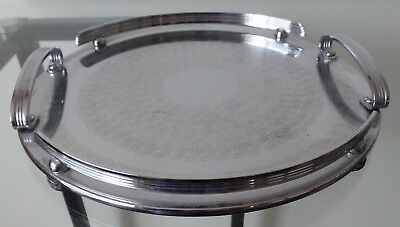 Ranleigh Vintage Stainless Serving Tray !!