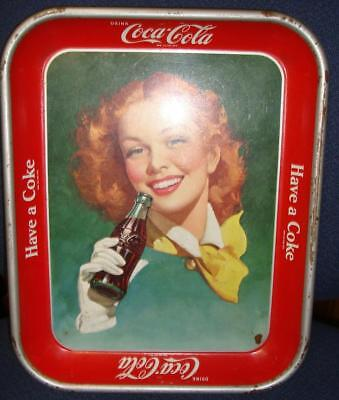 1950 American Art Works Coshocton Ohio Coca Cola Serving Tray Very Nice