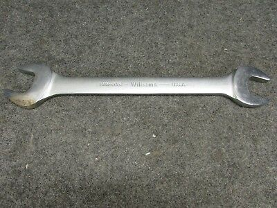 NEW! WILLIAMS TOOLS 30mm X 32mm OPEN END WRENCH