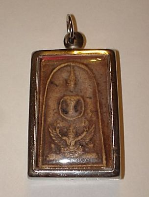 GREAT! 100yr OLD!  ANCIENT VOTIVE AMULET~~BUDDHA STATUE~~No reserve VERY NICE