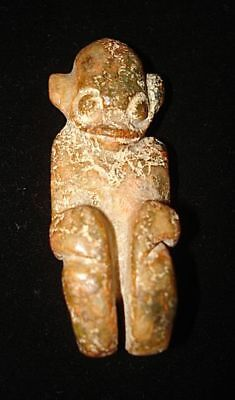 Wow!  Stone Amulet!  Alien? Angel? God? Demon?   5000 Years Old!