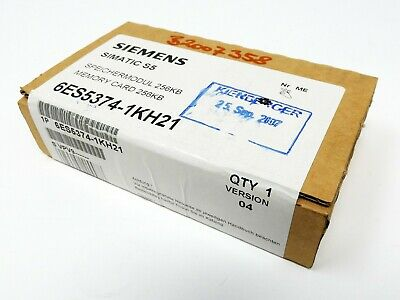 SIEMENS SIMATIC S5 6ES5374-1KH21 6ES5 374-1KH21 E-Stand: 4 -unused/OVP sealed-