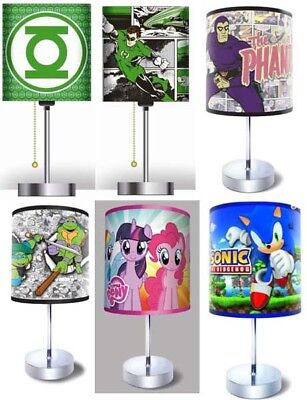 Mixed Box of Pop Culture Character Desk Lamps $234 Worth of Value