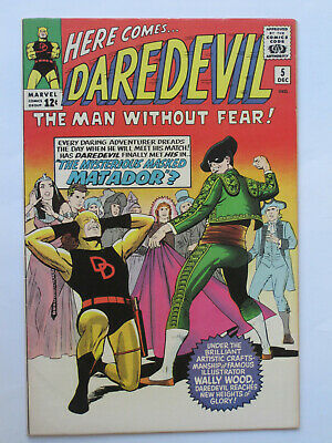 DAREDEVIL  # 10-49 US MARVEL  1965-1969  Wood / Colan art  G/VG  to VFN/NM
