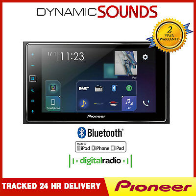 pioneer sph da230dab 2 din autoradio dab app radio usb aux. Black Bedroom Furniture Sets. Home Design Ideas