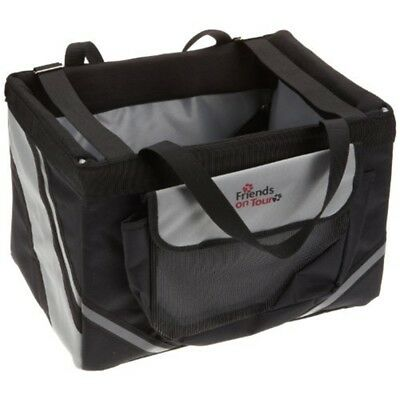 Front-box, 38 × 25 × 25cm -cm Frontbox Trixie Bicycles Black