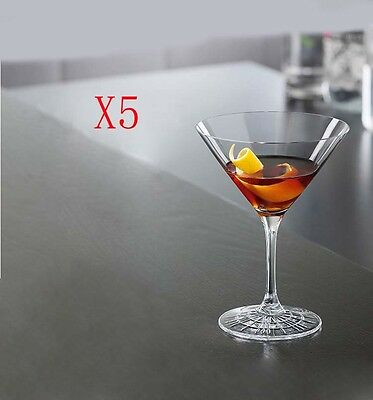 New 5X Capacity 165ML Height 140MM High Foot Cocktail Wine Glass/Glassware %