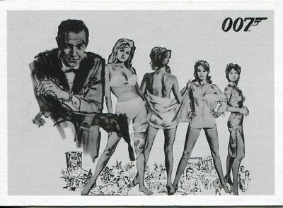James Bond 50th Anniversary Series 1 Complete 108 Card Dr. No Throwback Set