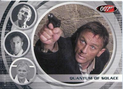 James Bond Archives 2009 Quantum Of Solace Exp. Chase Card #0067