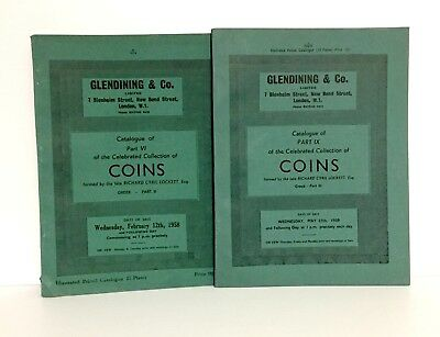 Glendining: Cyril Locket Collection Greek Coins Two Parts, Priced & Illustrated
