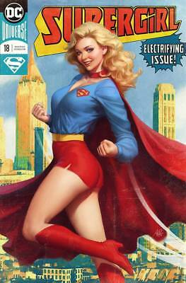 Supergirl #18 Lau Artgerm Variant Near Mint First Print Bagged And Boarded