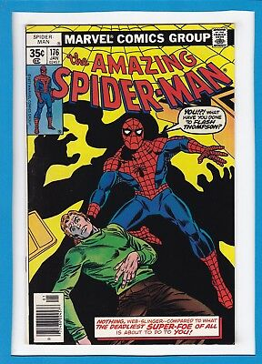 "Amazing Spider-Man #176_January 1978_Vf_""return Of The Green Goblin..part 1"""