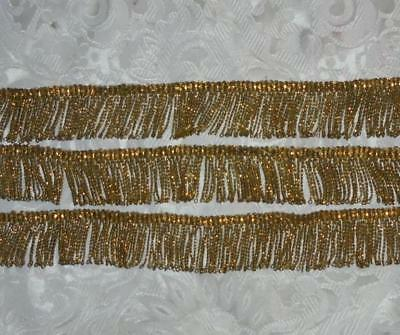 1.16m BEAUTIFUL 19th CENTURY VICTORIAN GOLD BULLION TRIM, PROJECTS