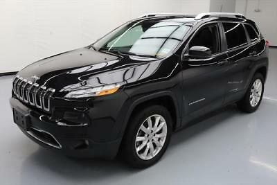 2016 Jeep Cherokee  2016 JEEP CHEROKEE LTD 4X4 PANO SUNROOF NAV LEATHER 19K #120137 Texas Direct