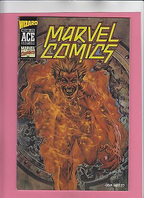 Marvel Comics #1 Wizard ACE #16 NM/M 1997 human torch, sub-mariner, golden-age