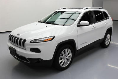 2015 Jeep Cherokee  2015 JEEP CHEROKEE LIMITED 4X4 PANO ROOF NAV 24K 24K MI #663397 Texas Direct