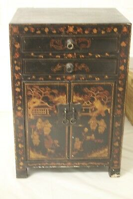 Antique Chinese Cupboard with 2 drawers