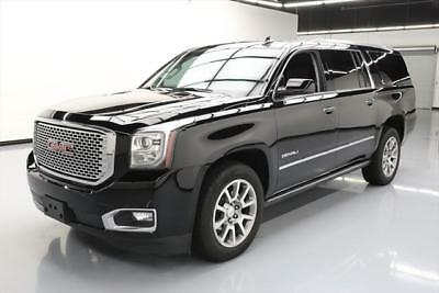 2017 GMC Yukon Denali Sport Utility 4-Door 2017 GMC YUKON XL DENALI 7PASS SUNROOF NAV DVD 20'S 18K #306791 Texas Direct