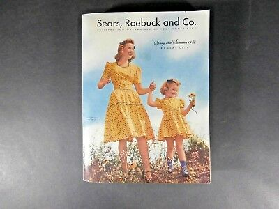 Vintage 1942 SEARS ROEBUCK and Co. Spring Summer Catalog Mint Unused Condition