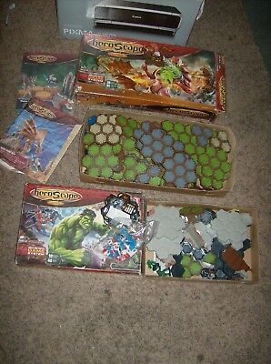 2 Sets Heroscape Conflict Begins & Rise Of The Valkyrie ( Parts) Huge Lot