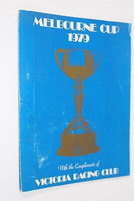 Melbourne Cup 1979 Official Programme Vrc Horse Racing