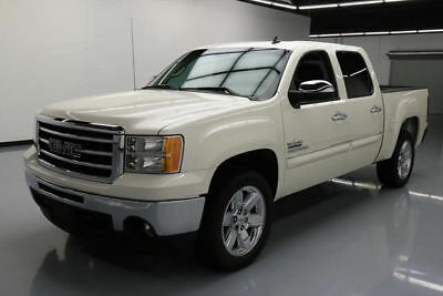 2013 GMC Sierra 1500 SLE Crew Cab Pickup 4-Door 2013 GMC SIERRA 1500 SLE CREW TEXAS 6-PASS LEATHER 54K #223811 Texas Direct Auto
